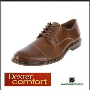 Dexter Comfort Alec Captoe Dress Shoes